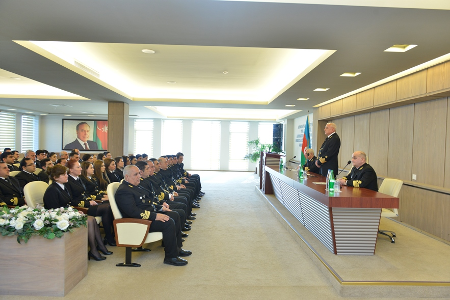 28th anniversary ceremony was held at the Maritime Agency of the Republic of Azerbaijan for the tragedy of 20 January