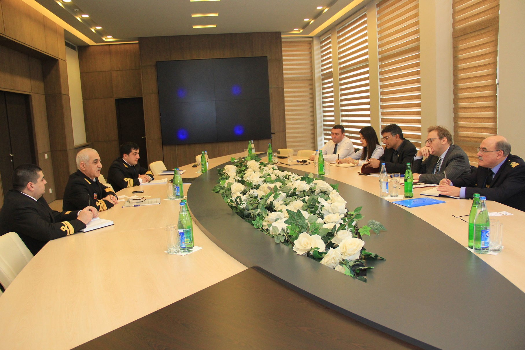 In the State Maritime Administration has been held the meeting with the representatives of classification societies in the Republic of Azerbaijan Recognized by the State Maritime Administration of the Republic Of Azerbaijan