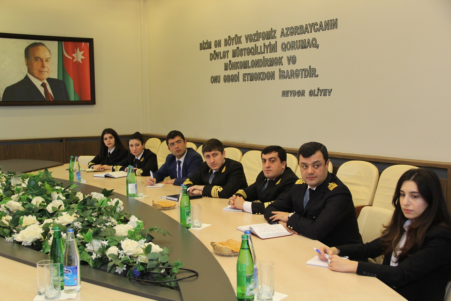In the State Maritime Administration of the Republic of Azerbaijan an educational event was held on