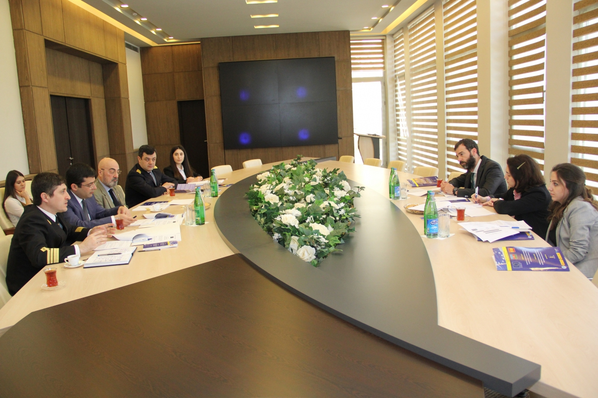 "In the State Maritime Administration was held the Steering Committee Meeting of the Twinning Project ""Support to the State Maritime Administration to Improve Liability in Maritime Transport in the Republic of Azerbaijan"""