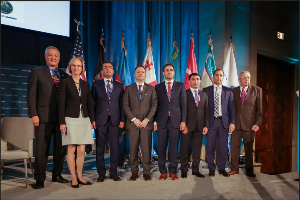 Representatives of the State Maritime Agency attended the 4th Trans-Caspian Forum held in Washington D.C.