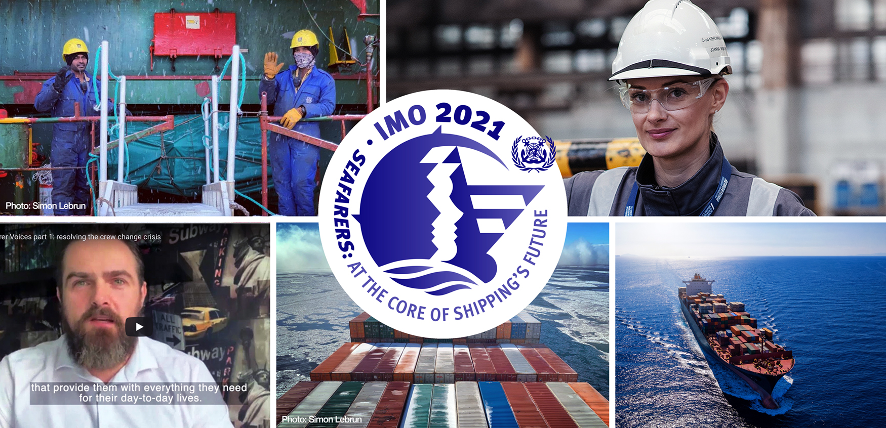 The World Maritime Theme for 2021 is dedicated to seafarers, highlighting their central role in the future of shipping.